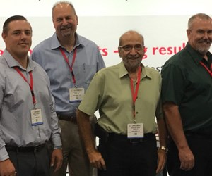 Hi-Speed Corporation President Jonathan Saada with members of the Hi-Speed Sales Team.