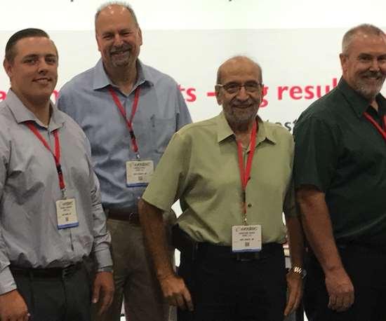 Hi-Speed Corporation President Jonathan Saada with members of the Hi-Speed Sales Team.
