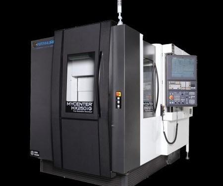 Kitamura Mycenter-HX250iG horizontal machining center