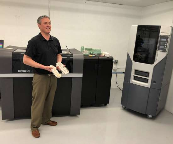 Additive manufacturing department at Byrne Tool + Design