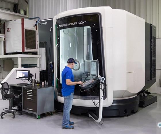 New DMG MORI machining center at Byrne Tool + Design