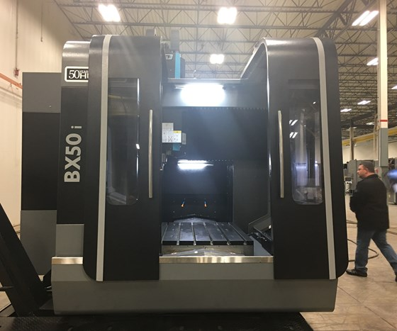 Hurco BX50i machining center