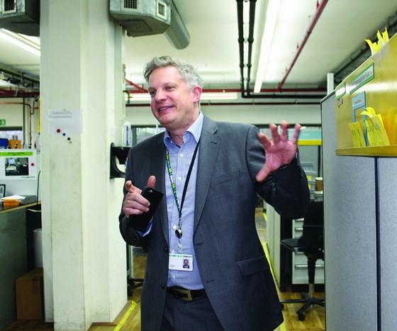 Sven Holsten, director of Phoenix Contact's tool shop plastics division