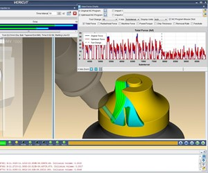 CGTech Vericut software screenshot