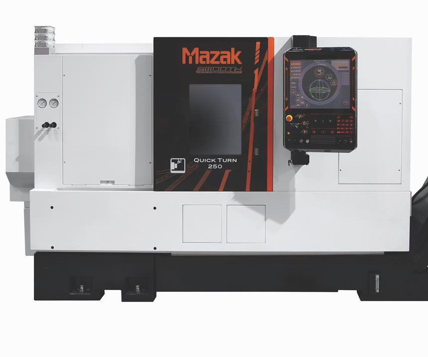 Mazak Quick Turn 250 turning center