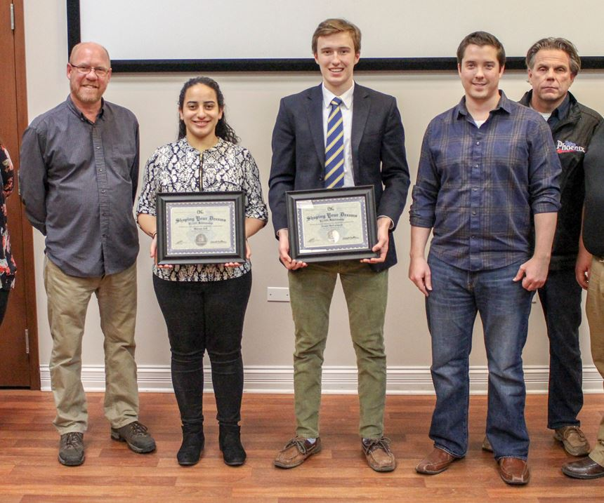 OSG USA professionals and scholarship winners