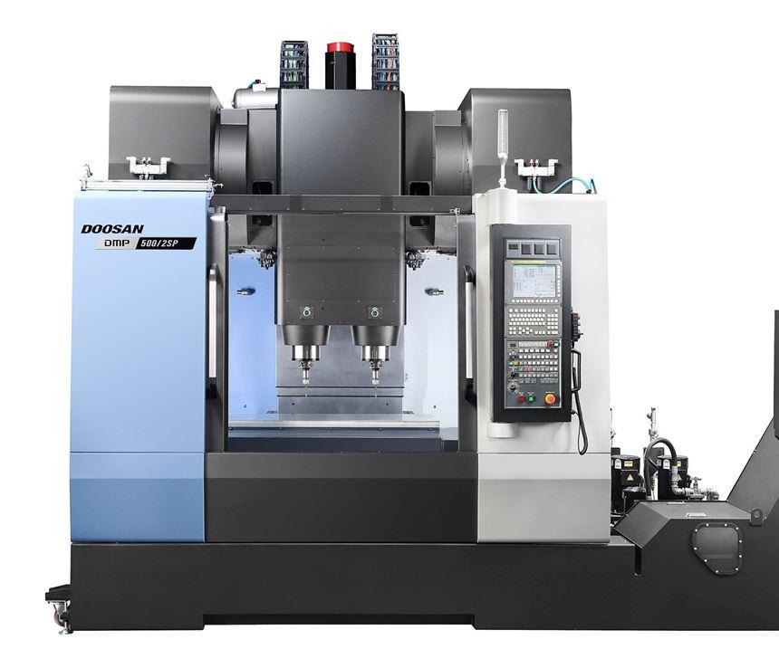 DMP 500/2SP from Doosan Machine Tools