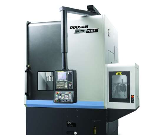 Doosan Puma V8300 vertical turning center
