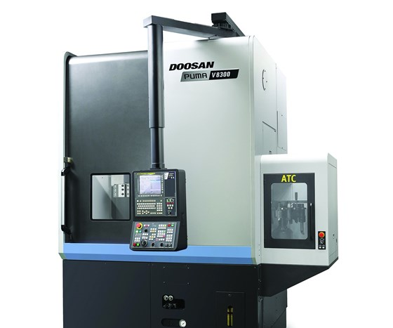 Doosan Puma V8300 vertical turning center