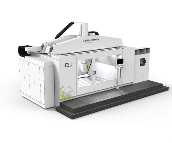 Zimmerman FZU five-axis gantry milling machine
