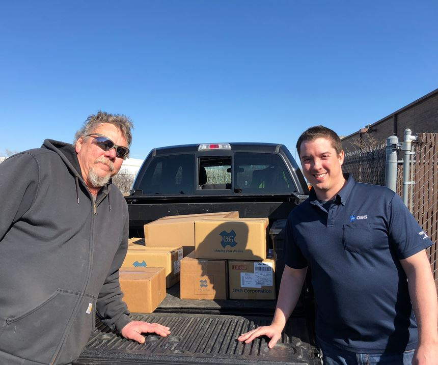 OSG USA makes donation to schools with advanced manufacturing programs