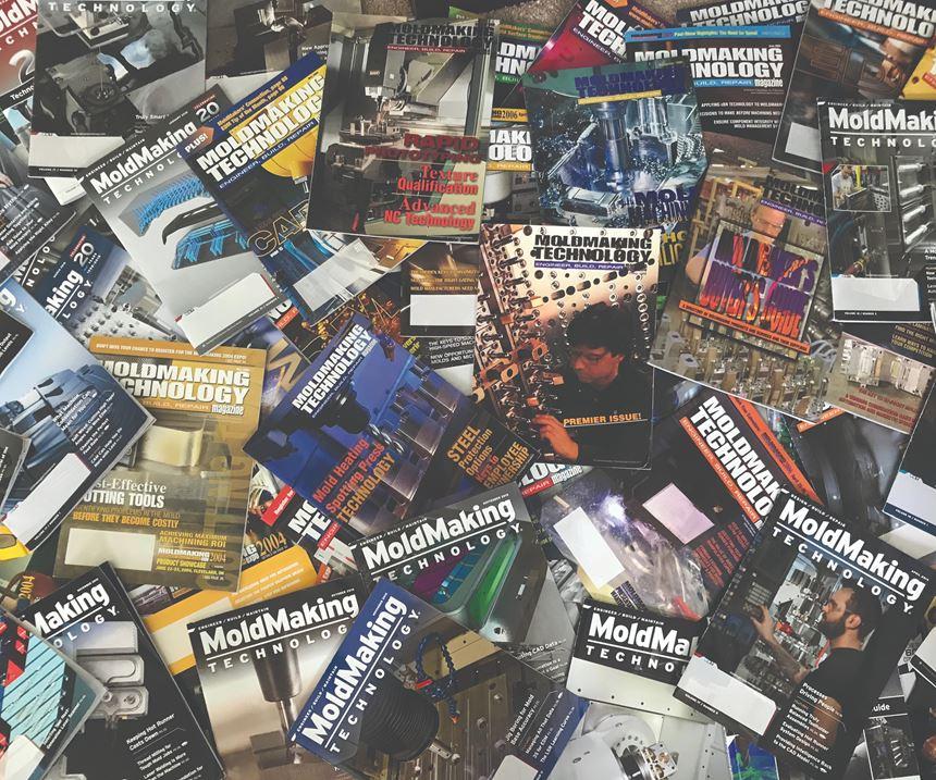 spread of MoldMaking Technology magazines