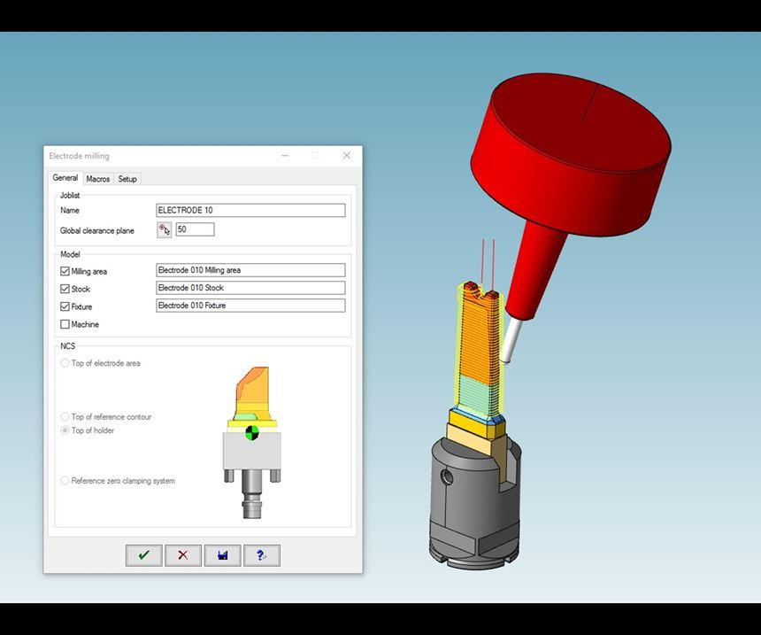 Electrode CAD/CAM