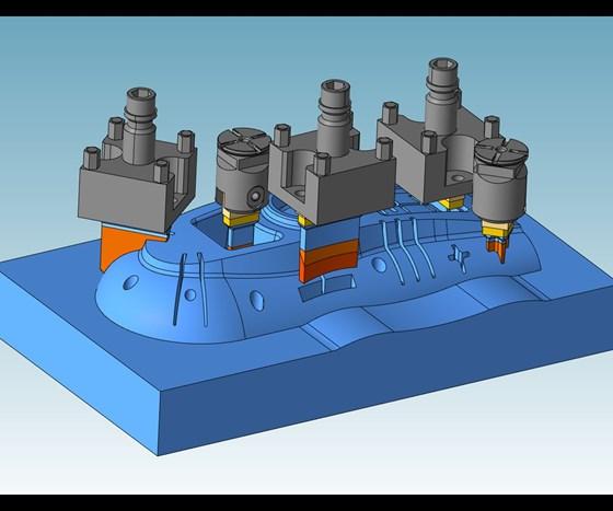 Electrode CAD design