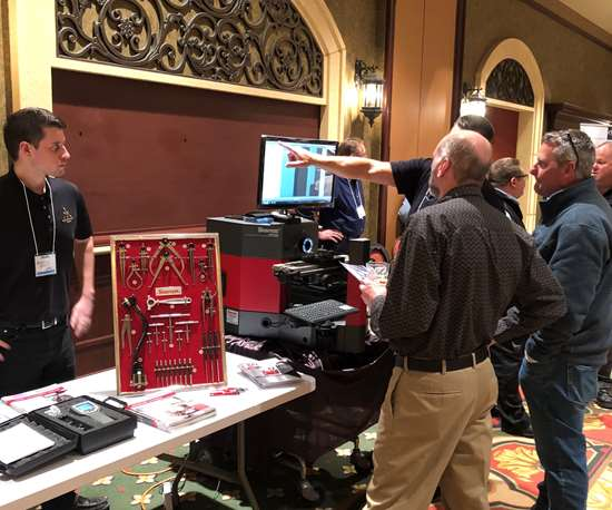 Supplier Demonstrations during the AMBA Chicago's Supplier Night.