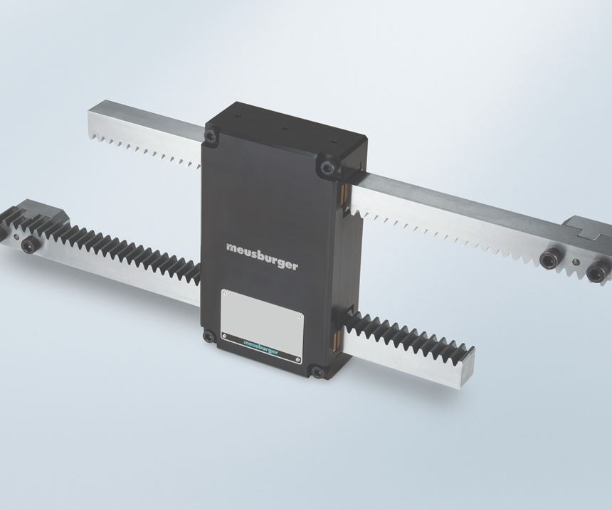 Meusburger gear unit for stack molds