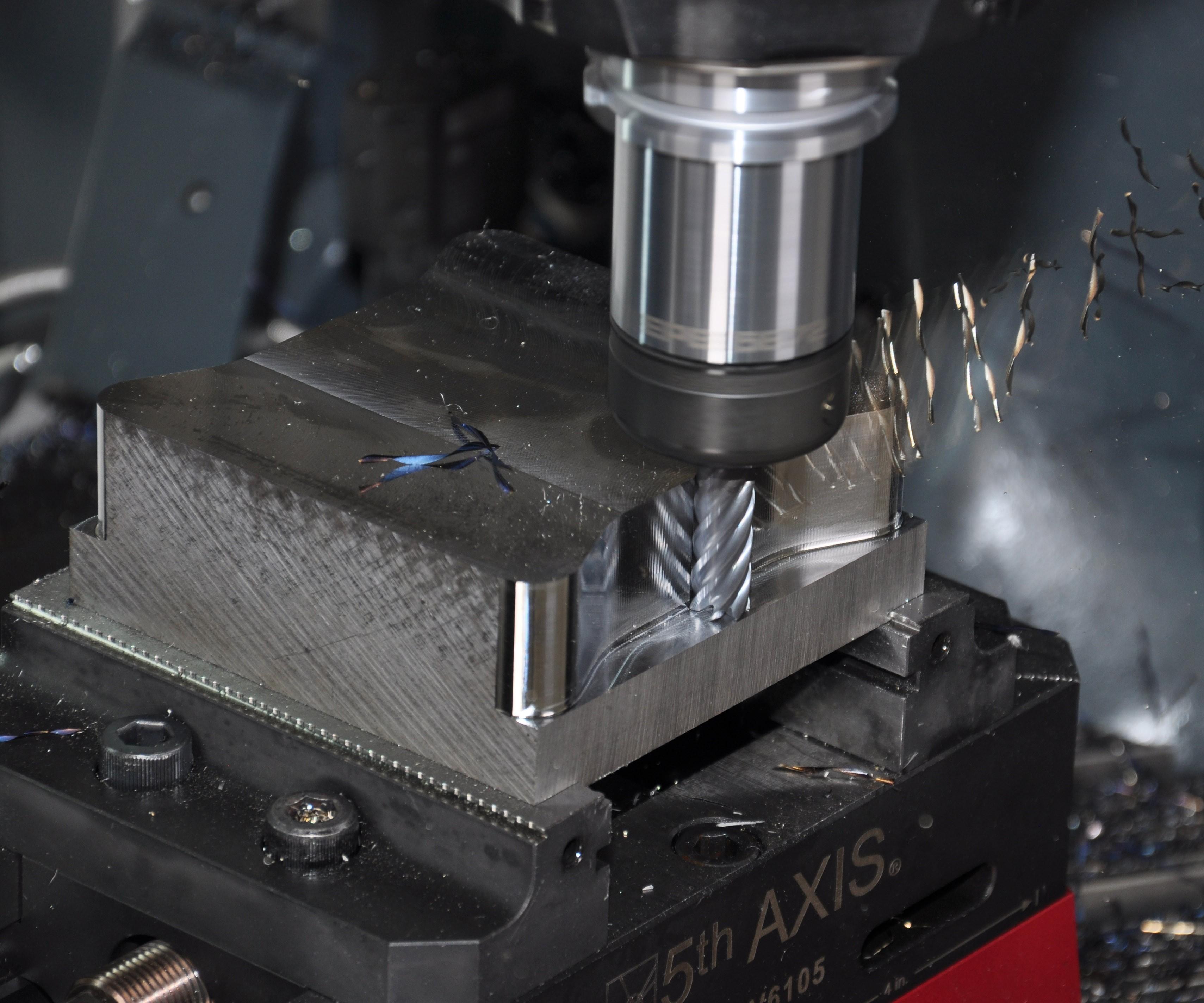 Cutting tool machining metal