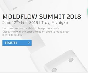 The 2018 Autodesk Annual Moldflow Summit screenshot