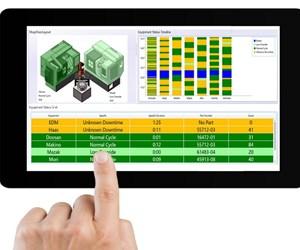 DataXchange on tablet screen