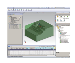 CAM Tool software interface