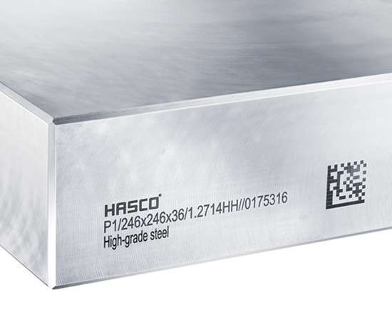 Hasco's1.2714HH pre-hardened steel