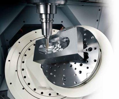 Makino machined part