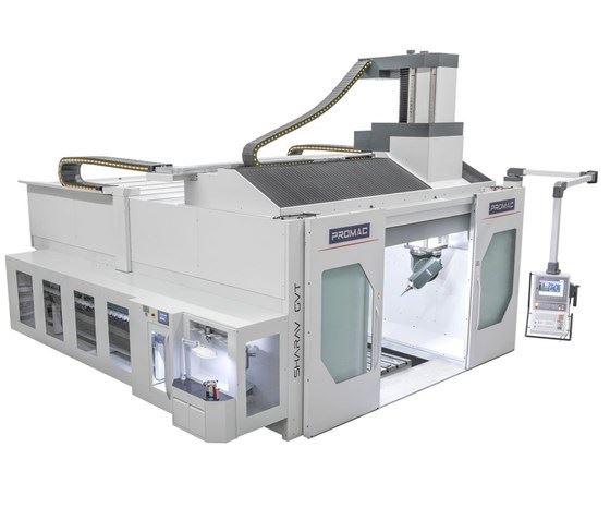 Promac Sharav GVT model gantry machine