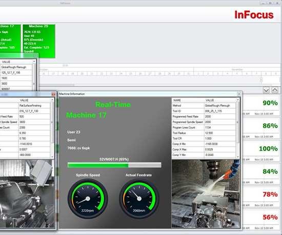 Screenshot of InFocussoftware from RER Software.