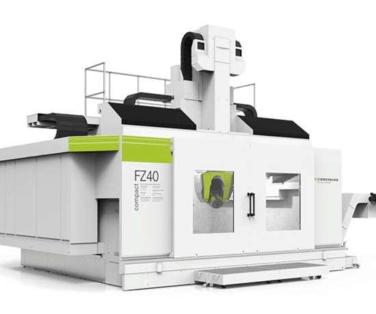 Zimmerman's FZ40 compact milling machine