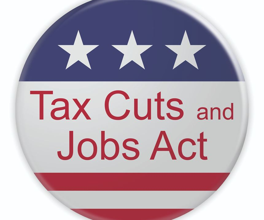 Tax Cuts and Jobs Act of 2017 badge