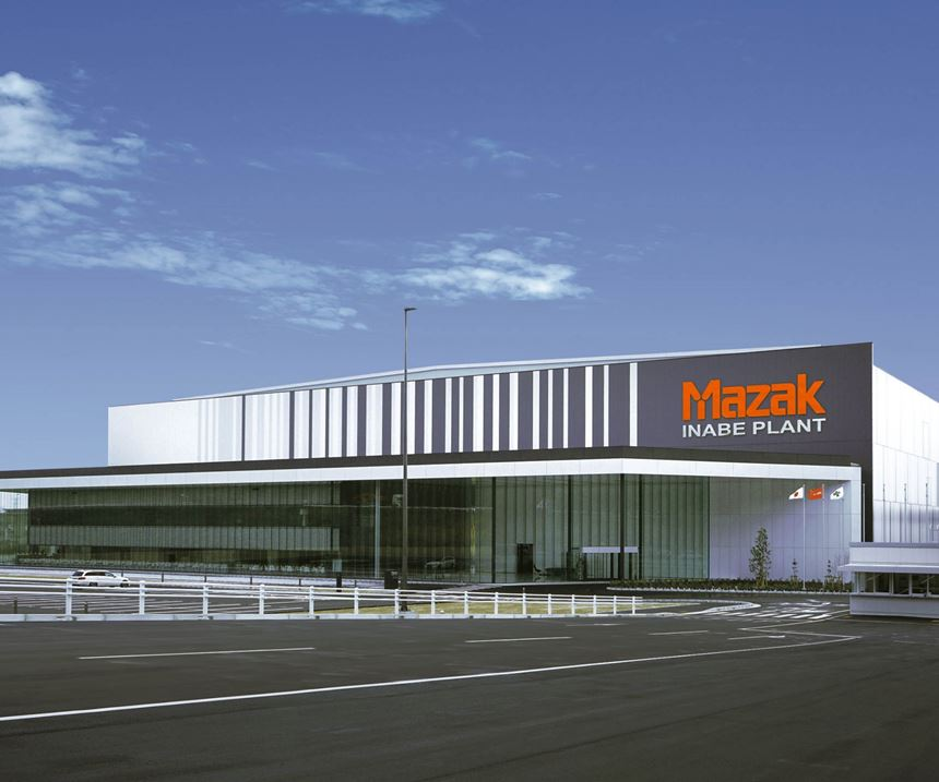 Outside view of the new Mazak plant