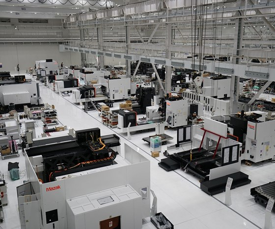 The assembly area at the Inabe plant
