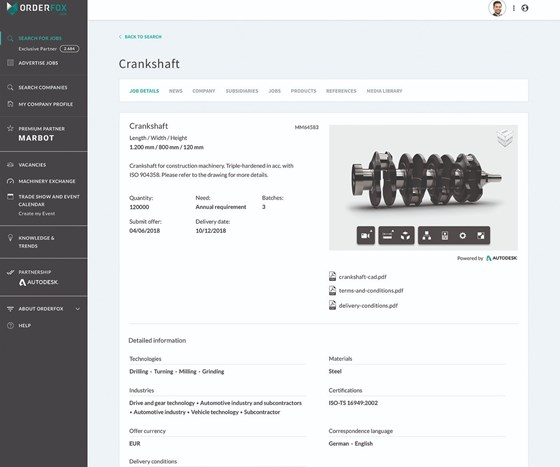 The integration of the auto desk forge viewer
