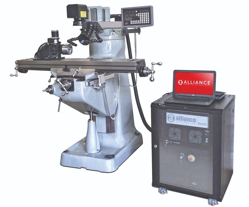 NGRV2 laser engraving system from Alliance