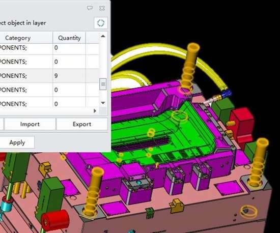 ZW3D 2018 CAD CAM Software screenshot.