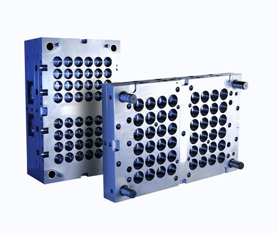 Edro-machined plate