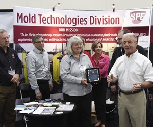 Chuck Klingler of Janler Corp. honored by SPE Mold Technologies Division