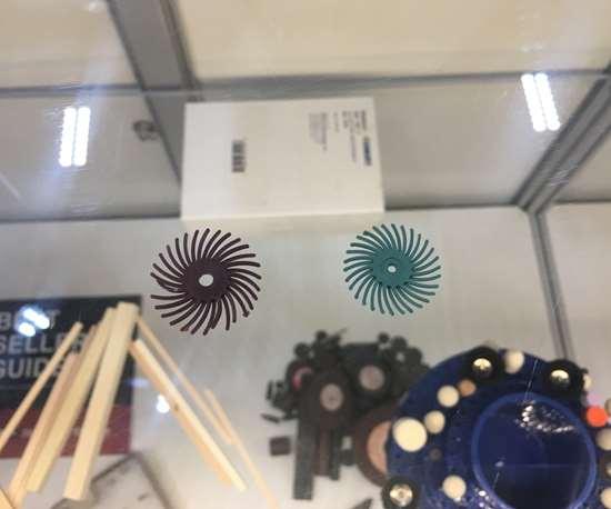 Boride Engineered Abrasives DedecoSunburst Radial Discs