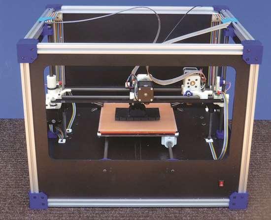 desktop 3D printer developed by Bob Zollo