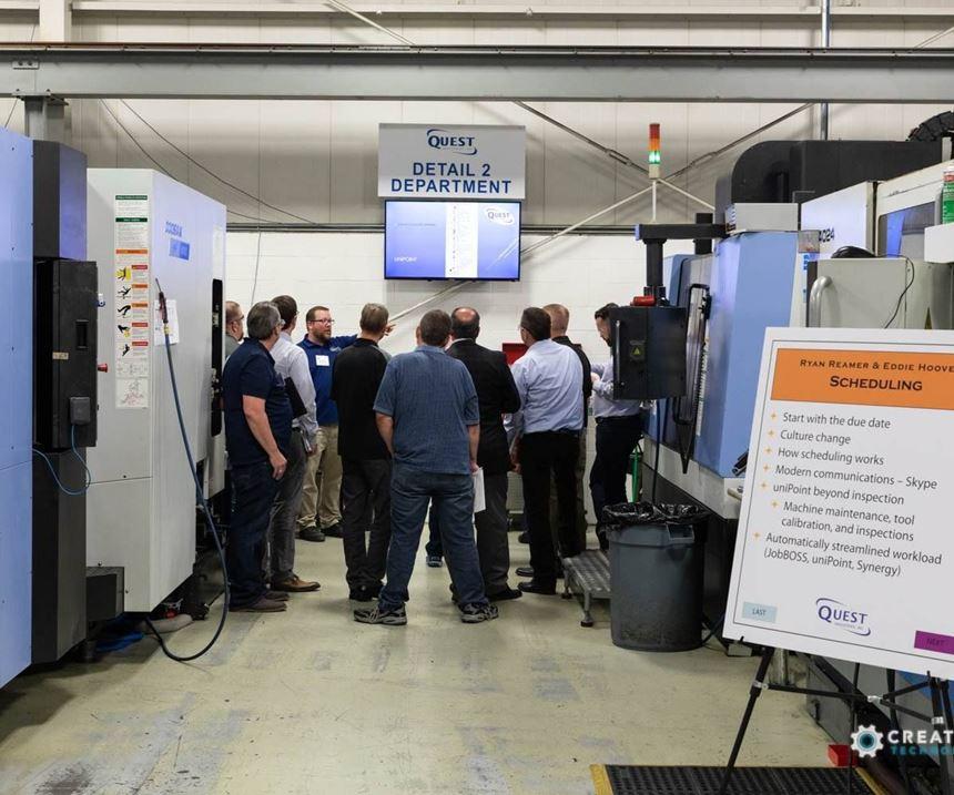 AMBA Plant Tour Workshop at Quest Industries