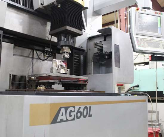 Sodick AG60L sinker EDM at Action Mold