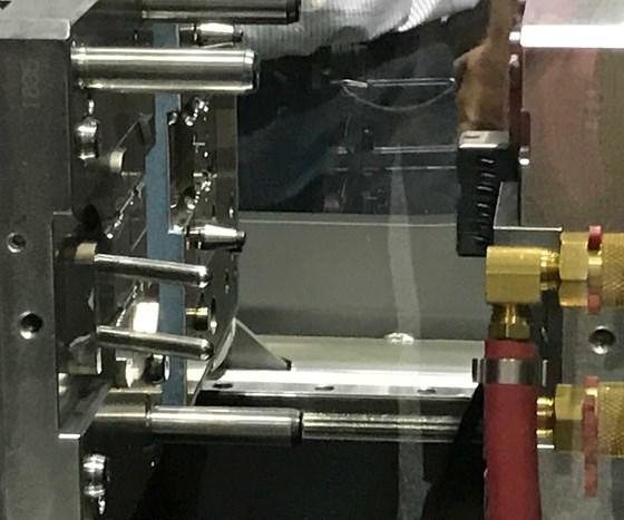 mold in press