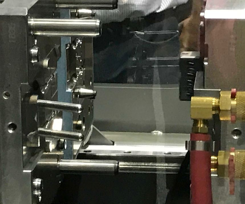 mold in press