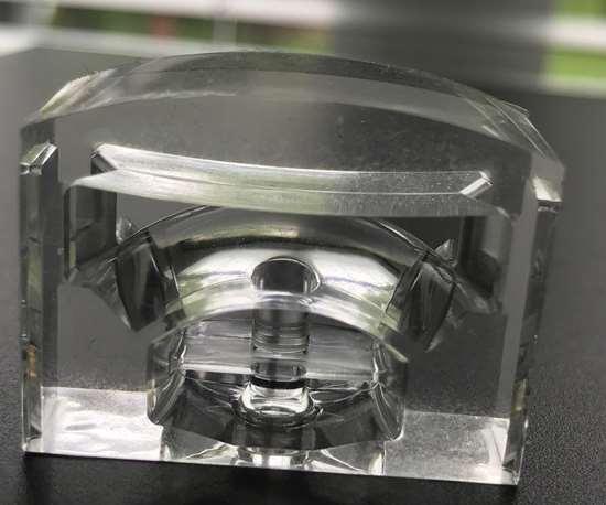 LSR lens part