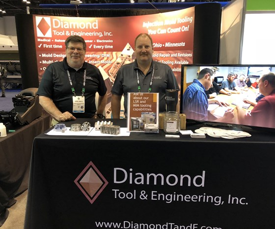 Diamond Tool and Engineering at NPE2018