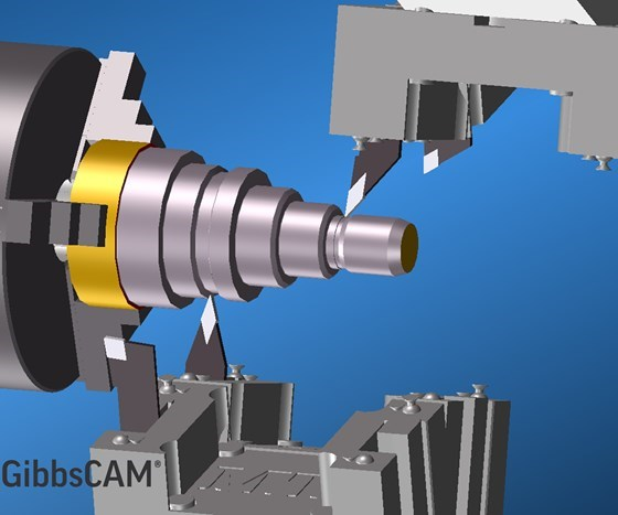3D Systems'sGibbsCAM13 simulation