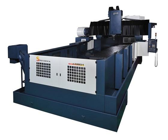 Absolute's Johnford DMC LH series bridge mill