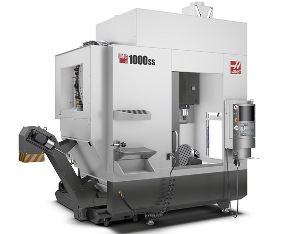 Haas Automation's UMC-1000SS five-axis machine
