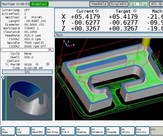 Milltronics USA's ChipBoss screenshot