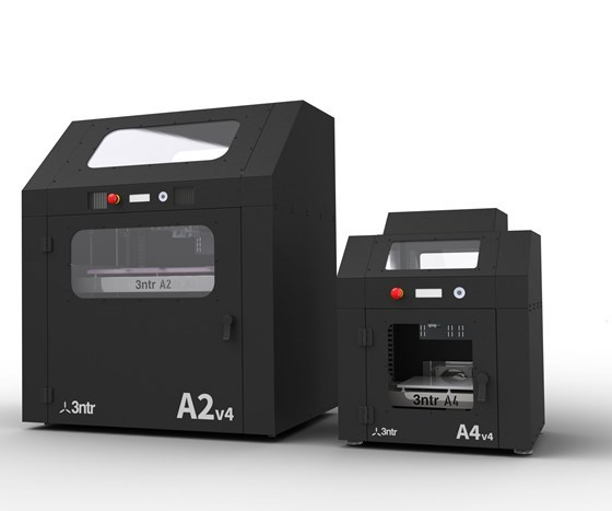 Plural Additive Manufacturing's A2V4 and A4V43D printers